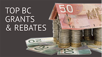 BC home grants & rebates