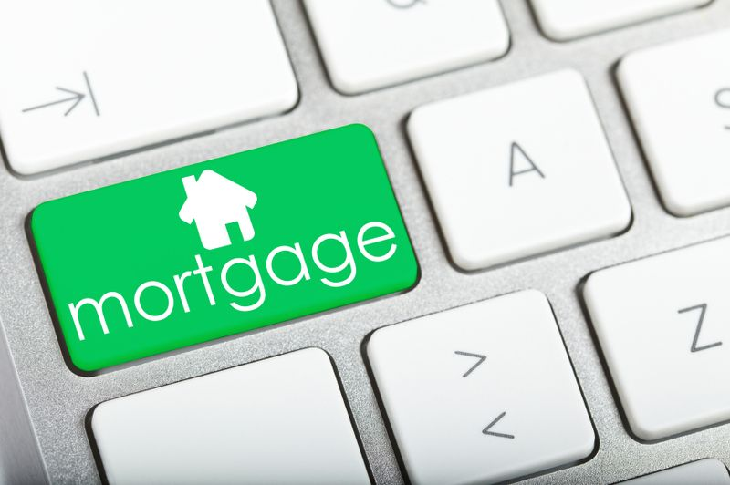 mortgage green button