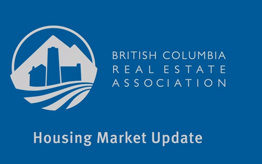 bcrea BLUE housing market update