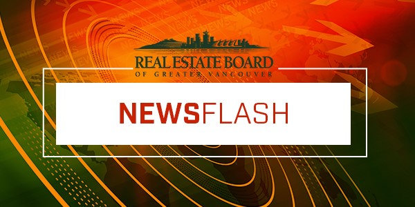 REBGV News Flash