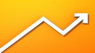 stats arrow orange